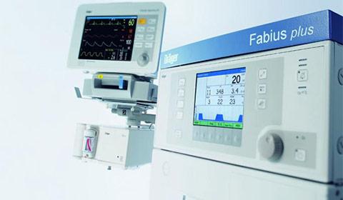 Equipo de anestesia Dräger Fabius Plus